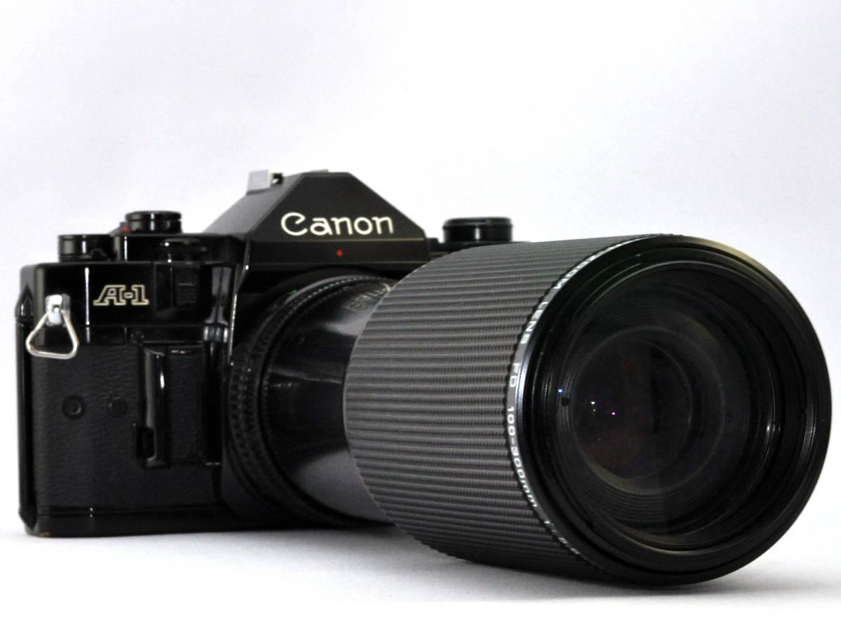 キャノン フィルムカメラ A-1 + ズームレンズ Canon_画像2
