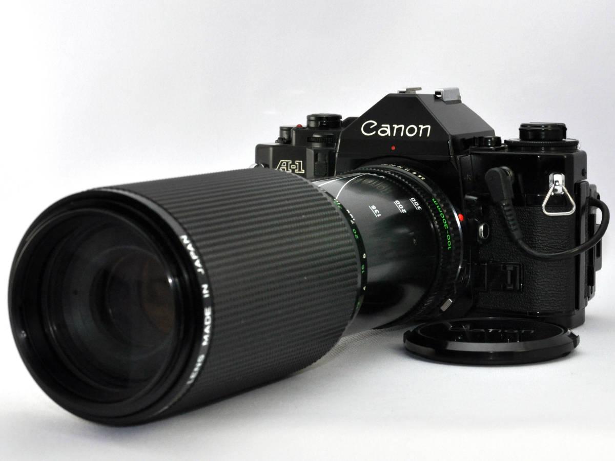 キャノン フィルムカメラ A-1 + ズームレンズ Canon