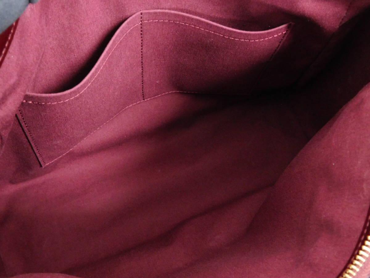 極美品 LOUIS VUITTON ルイヴィトン ヴェルニ メルローズ・アヴェニュー ハンドバッグ ルージュフォーヴィスト_画像10