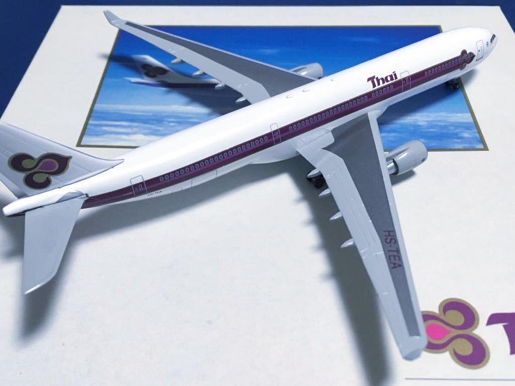 【DRAGON 1/400】限定品 タイ国際航空 A330-300 HS-TEA _画像3