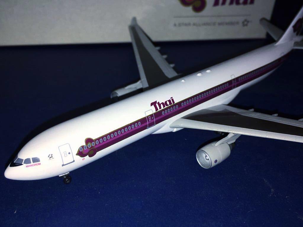 【DRAGON 1/400】限定品 タイ国際航空 A330-300 HS-TEA _画像4