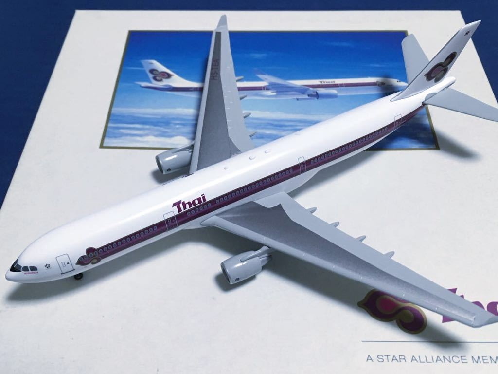 【DRAGON 1/400】限定品 タイ国際航空 A330-300 HS-TEA _画像2