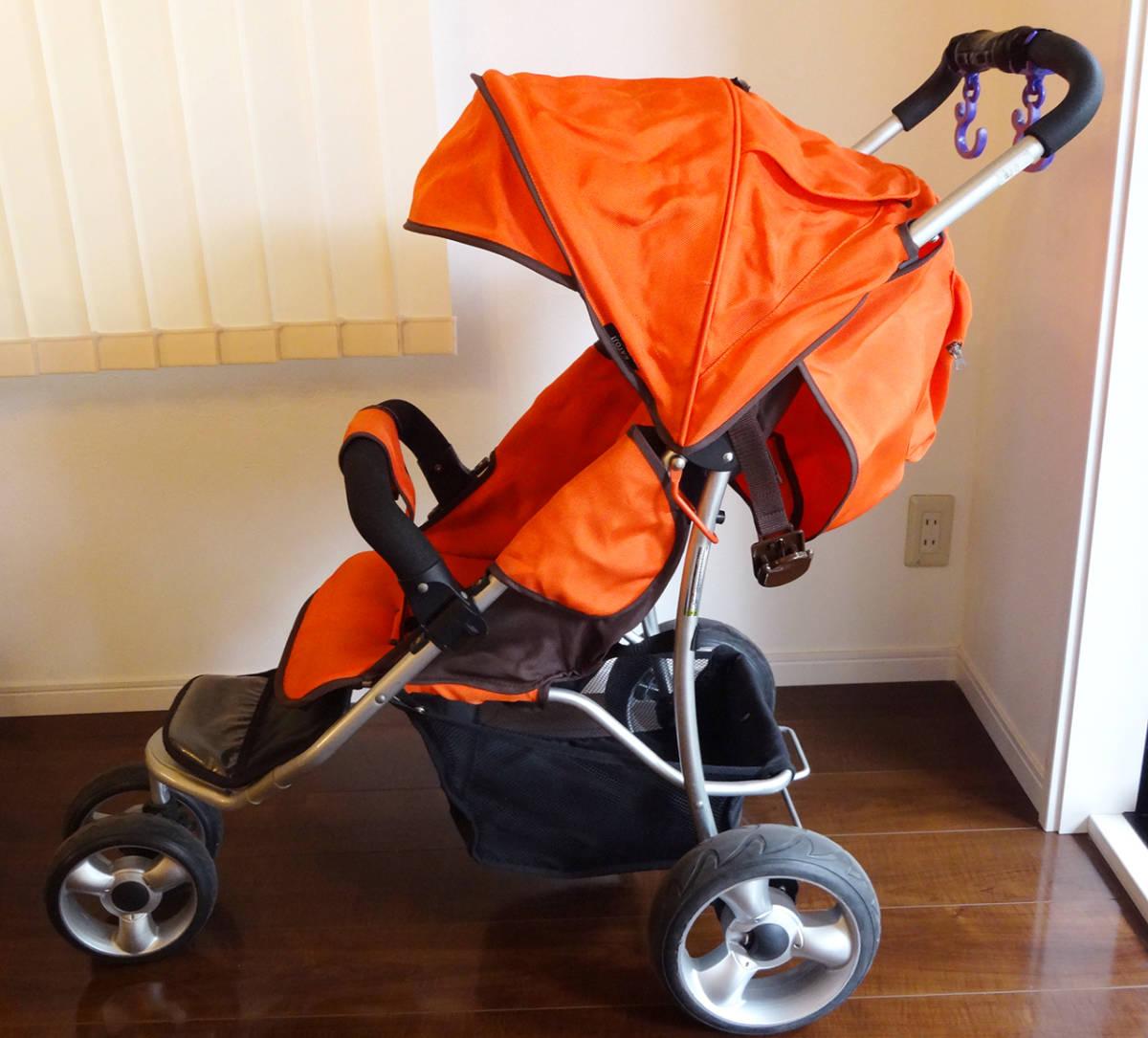 美品カトージ New York・Baby 3Wheel 3輪ベビーカー バギータイプ_画像6