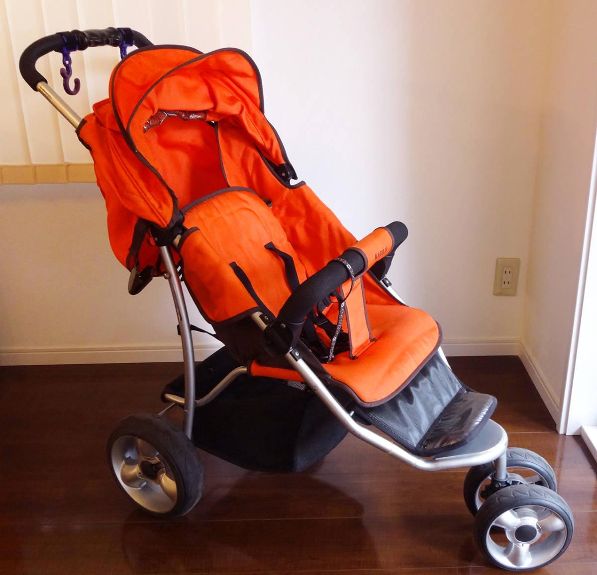 美品カトージ New York・Baby 3Wheel 3輪ベビーカー バギータイプ