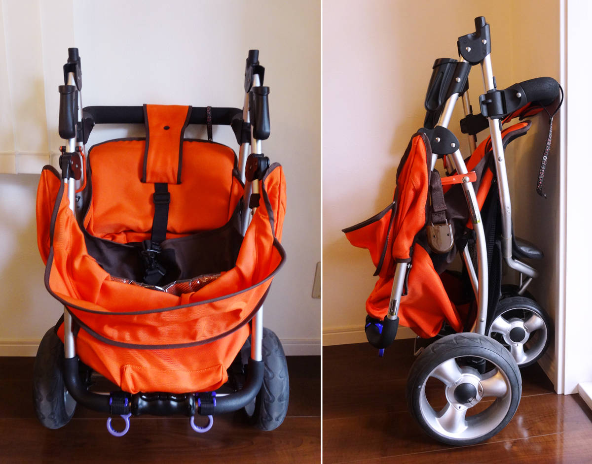 美品カトージ New York・Baby 3Wheel 3輪ベビーカー バギータイプ_画像10