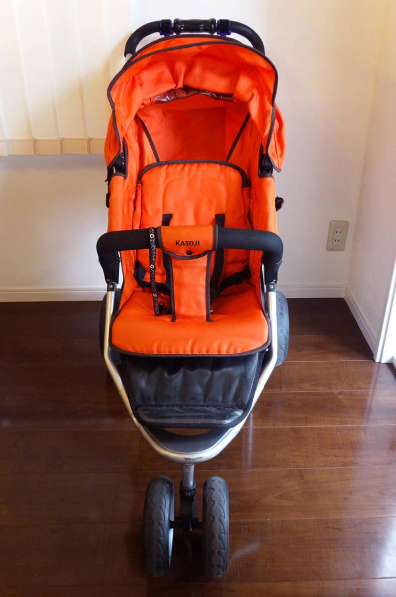 美品カトージ New York・Baby 3Wheel 3輪ベビーカー バギータイプ_画像2