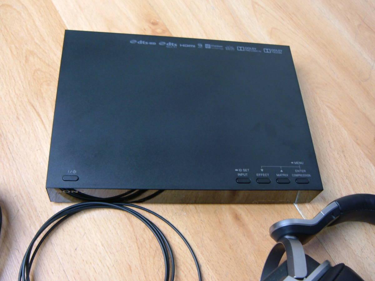 59 【極上品】ソニー 9.1ch デジタルサラウンド ヘッドホンシステム MDR-HW700DS_画像5