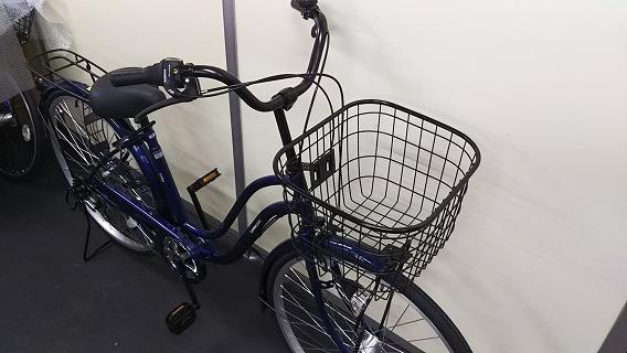 ☆アウトレット 自転車☆26インチ 濃青 シマノ製外装6段変速 LEDオートライト_画像5