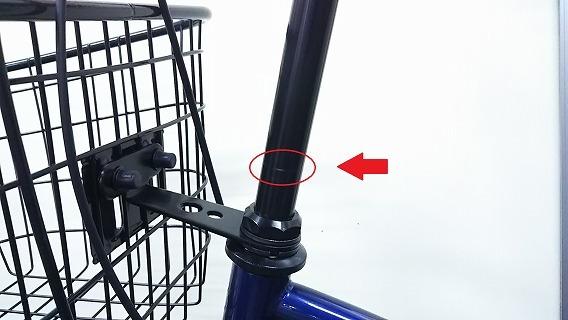☆アウトレット 自転車☆26インチ 濃青 シマノ製外装6段変速 LEDオートライト_画像8
