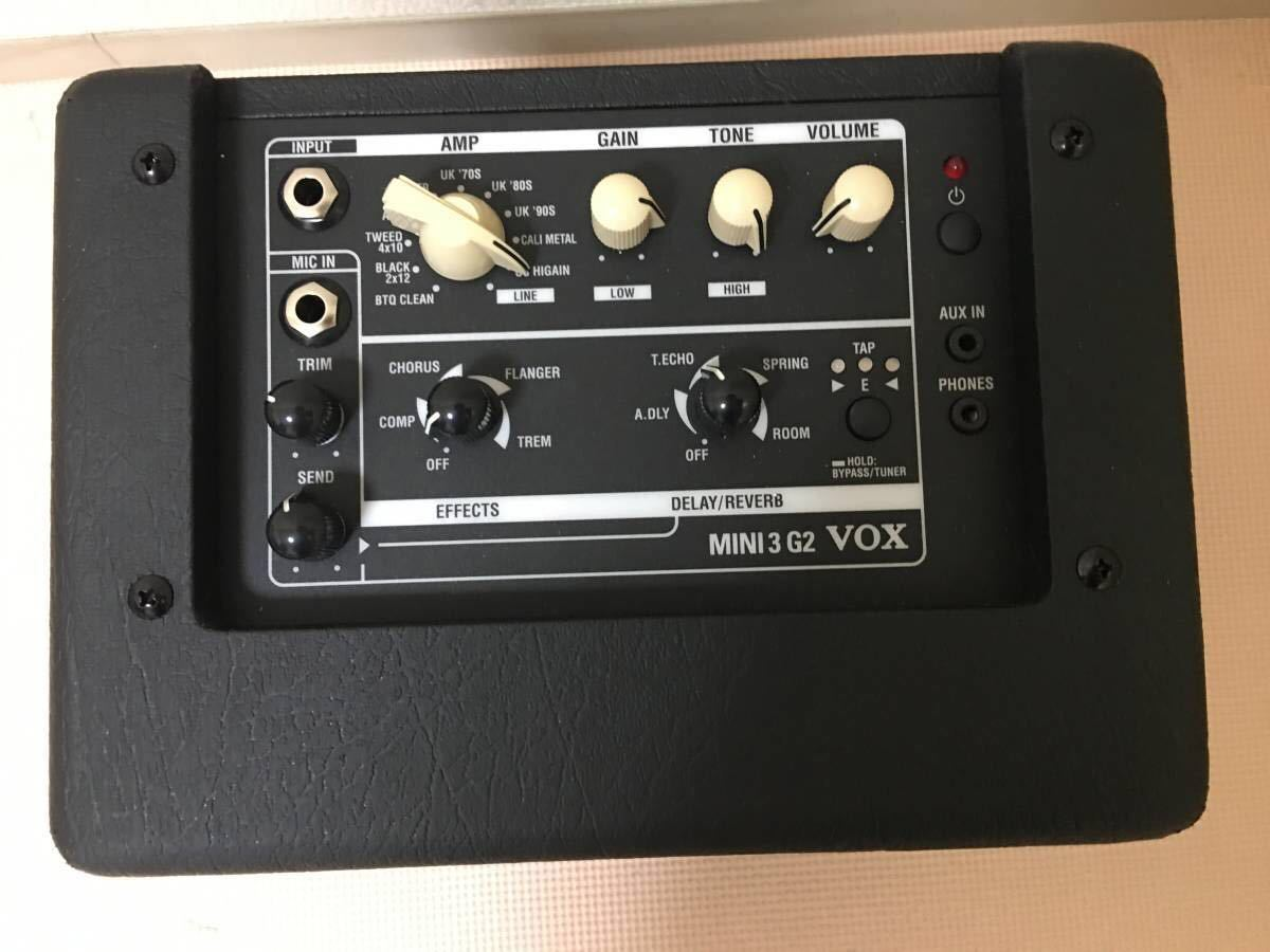 VOX MINI 3 G2 BK ブラック 美品 ギターコンボアンプ_画像3
