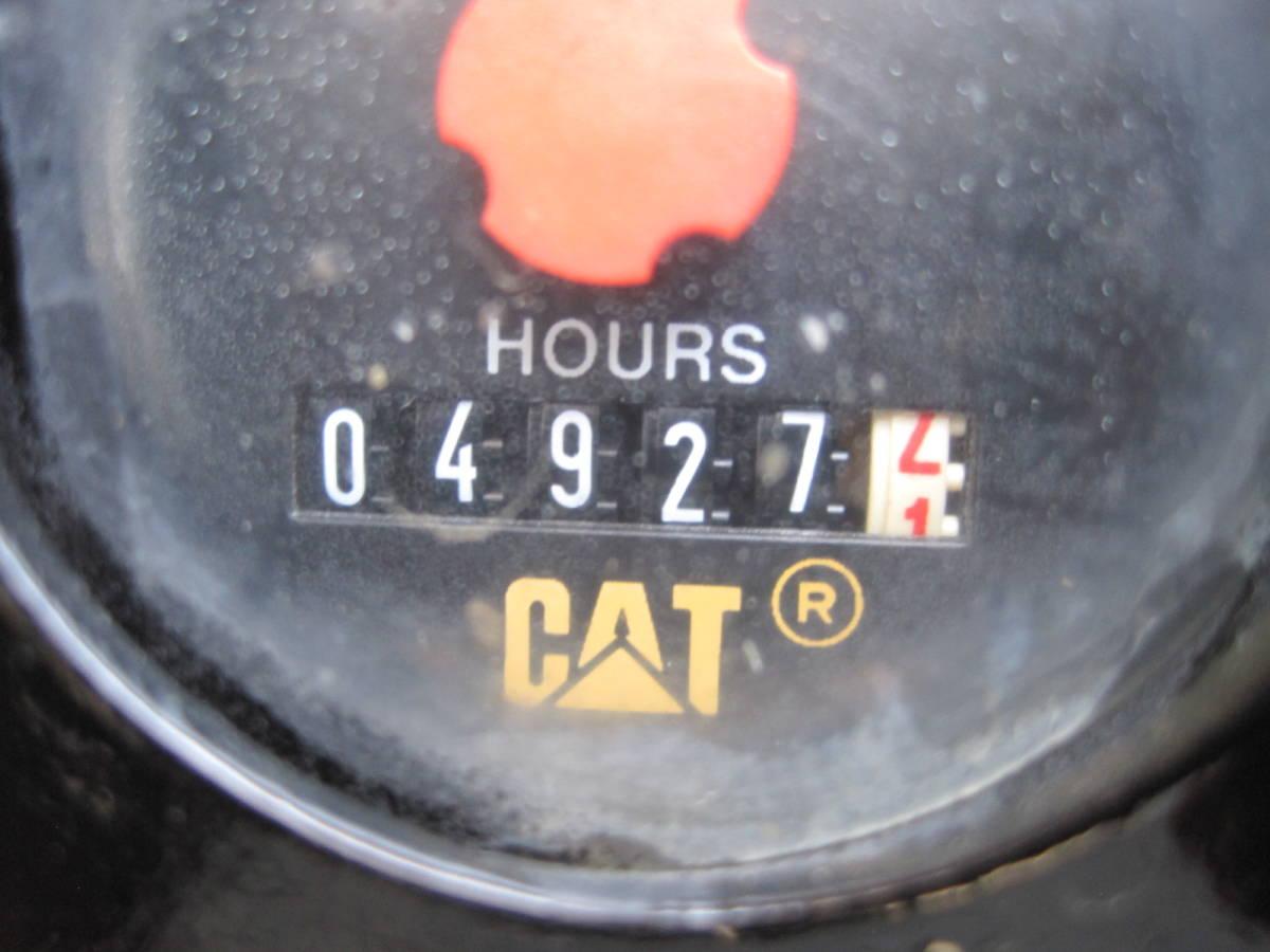 「CAT 305SR ミニユンボ 油圧ショベル ゴムパッド 倍速 オフセットブーム」の画像3
