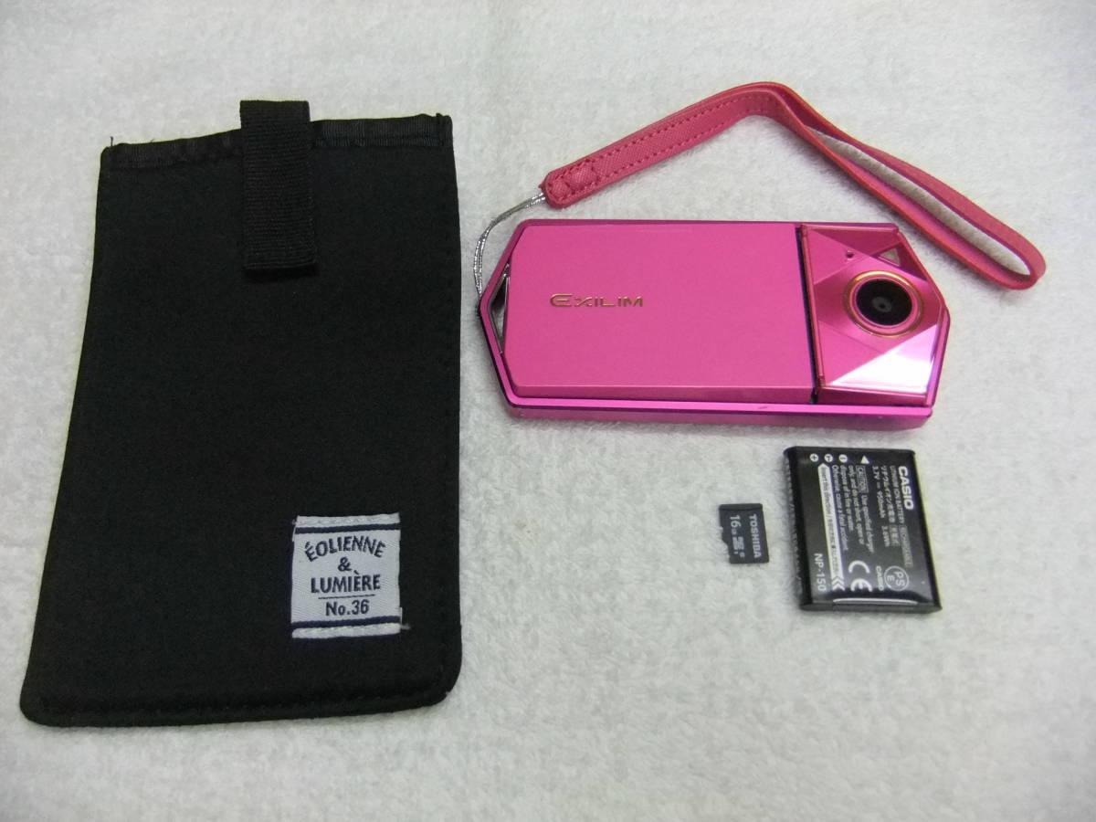 カシオ CASIO EX-TR700 1200万画素 ケース,SD16GB付