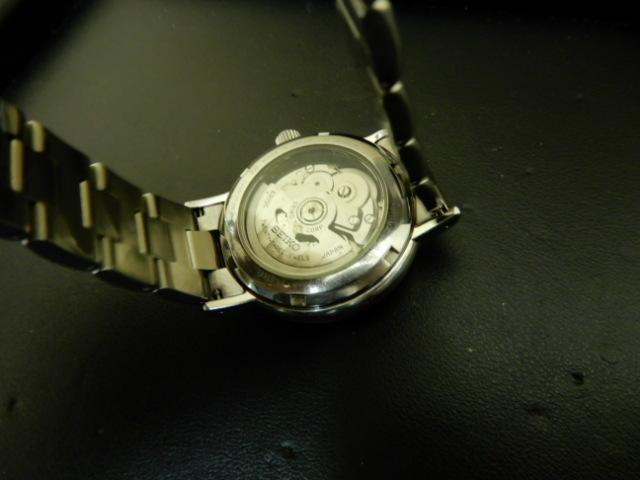 【2803】 セイコー メカニカル 6R15-00V0 自動巻 裏スケルトン 中古時計_画像6