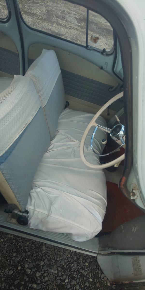 ★旧車 スバル360 K111 年式不明 てんとう虫 3速MT 不動 部品取り レストアベース 書類付★_画像7