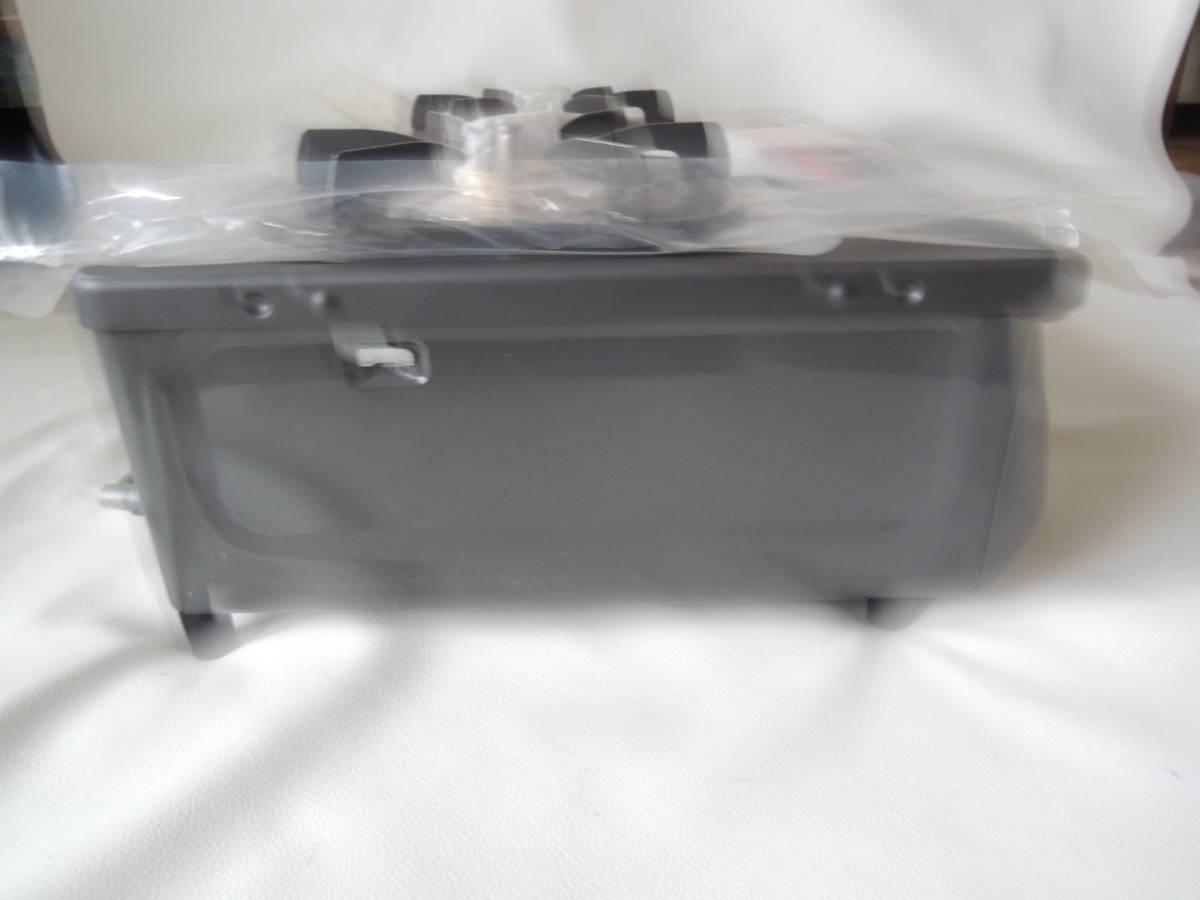 E / Rinnai リンナイ グリル付 ガステーブル RTS-350NF-R GTR-1F プロパンガス用 LPガス / レバー式 小型 56㎝ 未使用自宅保管品_画像4