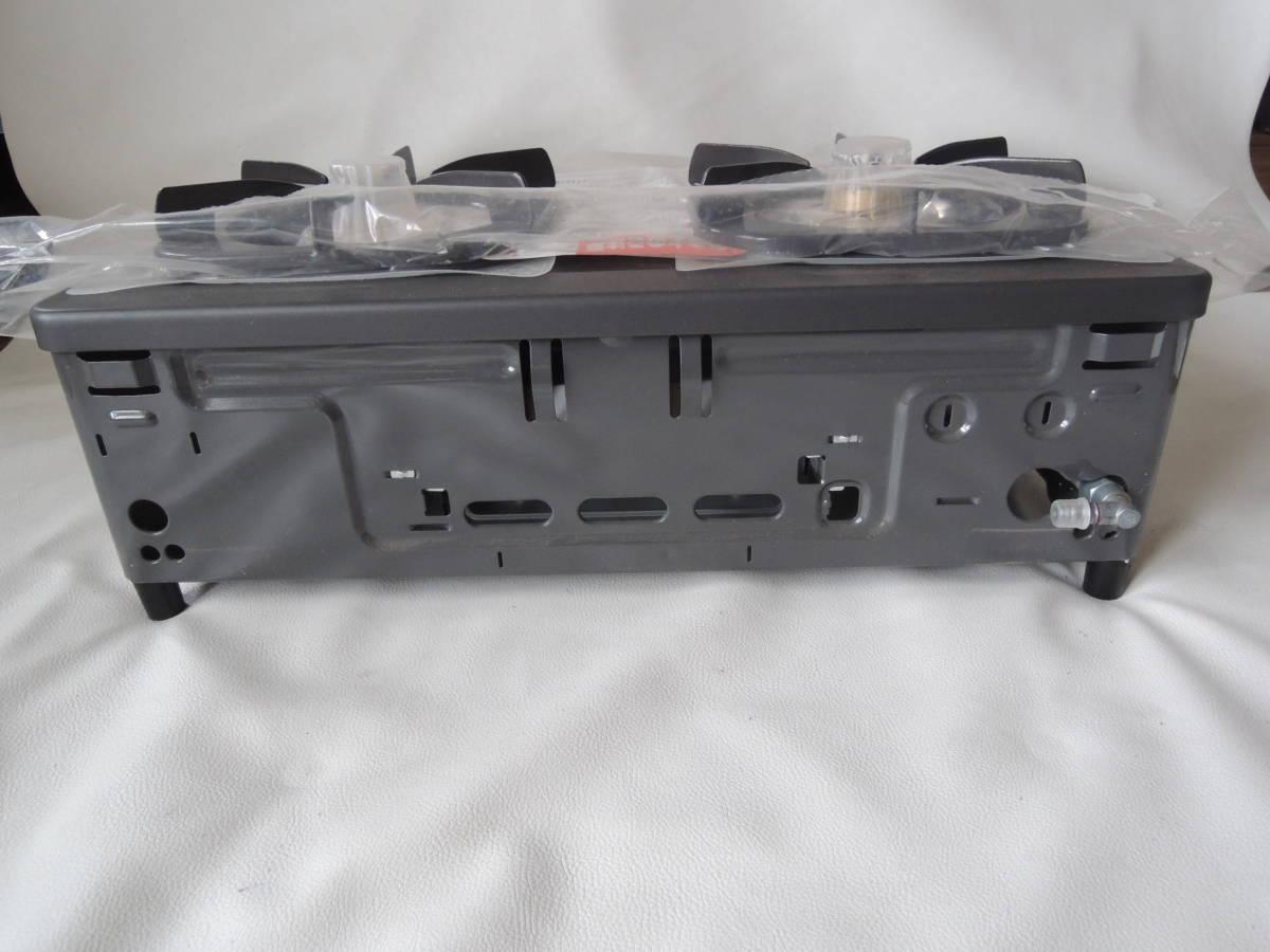 E / Rinnai リンナイ グリル付 ガステーブル RTS-350NF-R GTR-1F プロパンガス用 LPガス / レバー式 小型 56㎝ 未使用自宅保管品_画像5