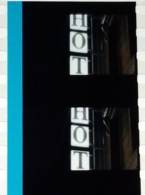 Aqoursの輝跡 フィルム ホテルの看板 ラブライブ サンシャイン 映画 劇場版 入場者プレゼント 特典_画像1