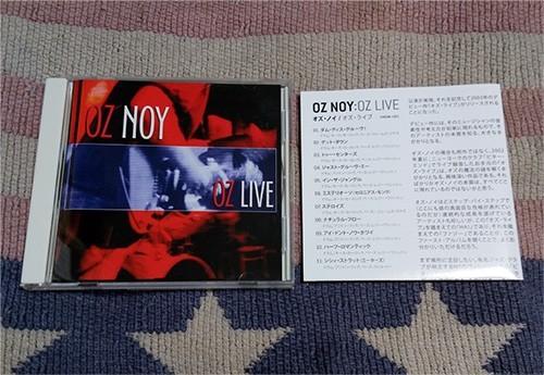 CD オズ・ライヴ Oz Noy オズ・ノイ ボーナストラック 解説付 正規国内盤 ディスク良好_画像1