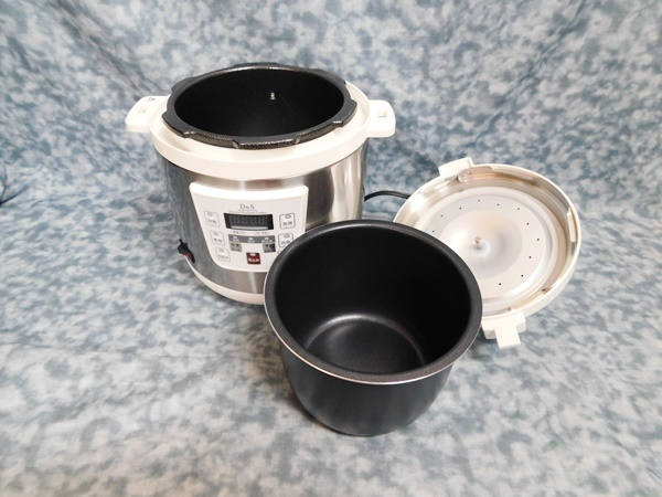 D&S 家庭用マイコン電気圧力鍋 STL-EC25G_画像7