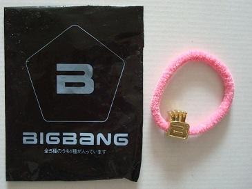 未使用 G-DRAGON from BIGBANG 公式グッズ ヘアゴム ジヨン_画像1
