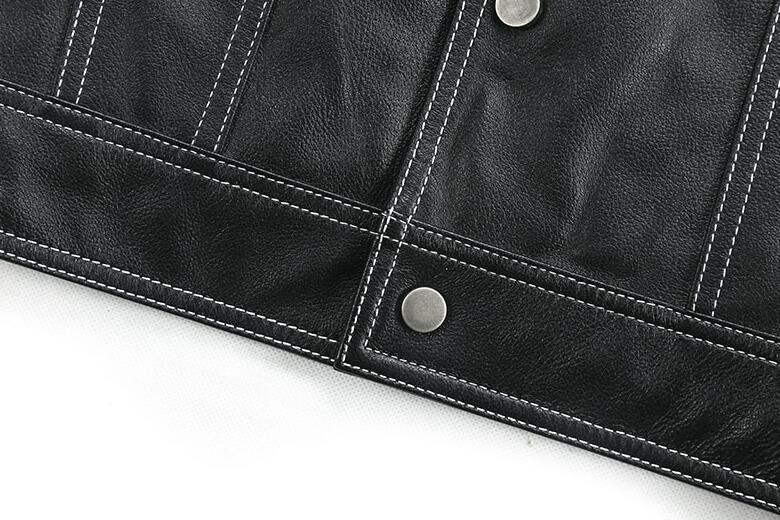 限量発表★上層羊革レザージャケット本革ライダースラムスキン 細身メンズレザーコート パイクウェア 高品質革ジャン55S358サイズ選択可_画像8
