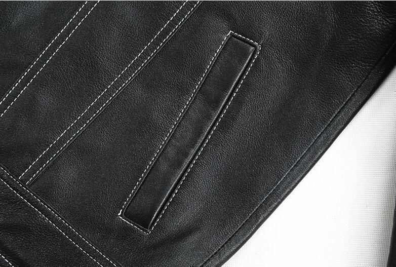 限量発表★上層羊革レザージャケット本革ライダースラムスキン 細身メンズレザーコート パイクウェア 高品質革ジャン55S358サイズ選択可_画像7