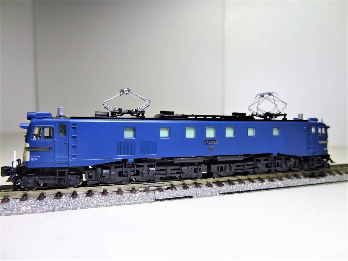 ★☆KATO 3056 EF58-35 電気機関車 長岡運転所 Nゲージ(中古品)☆★_画像7