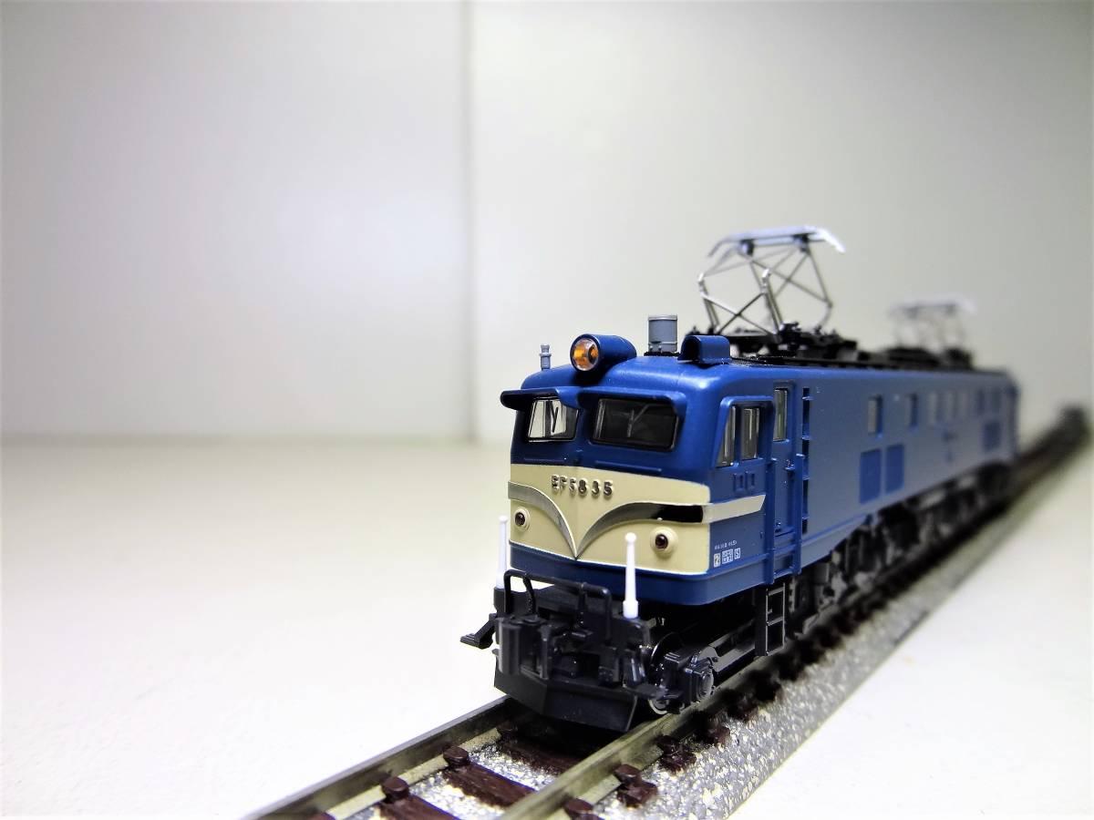 ★☆KATO 3056 EF58-35 電気機関車 長岡運転所 Nゲージ(中古品)☆★_画像3