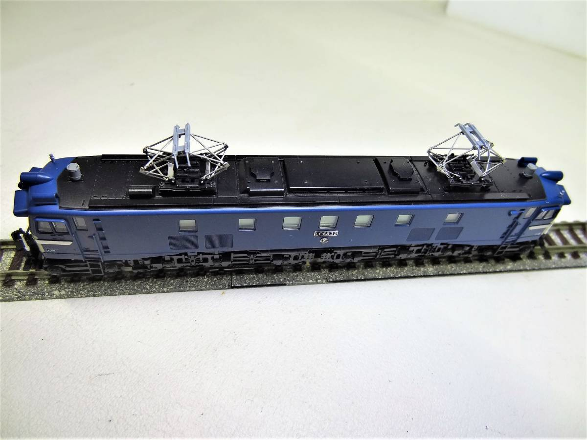 ★☆KATO 3056 EF58-35 電気機関車 長岡運転所 Nゲージ(中古品)☆★_画像8