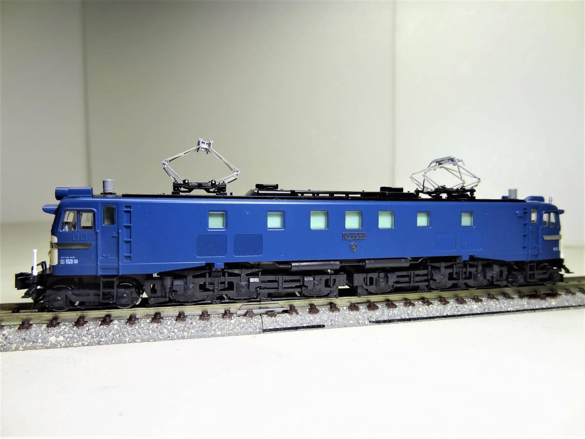 ★☆KATO 3056 EF58-35 電気機関車 長岡運転所 Nゲージ(中古品)☆★_画像4