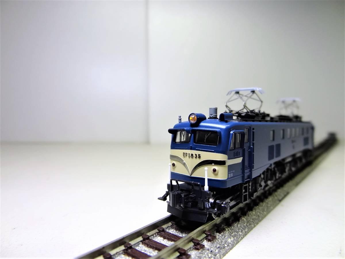 ★☆KATO 3056 EF58-35 電気機関車 長岡運転所 Nゲージ(中古品)☆★_画像6