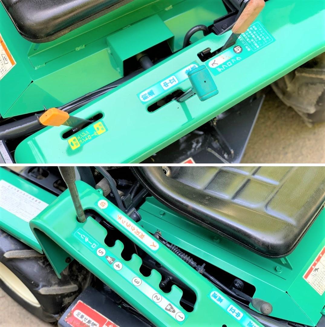 筑水キャニコム まさお 乗用草刈機  『 CM1603 』 16馬力 HST無段変速 デフロック付_画像6