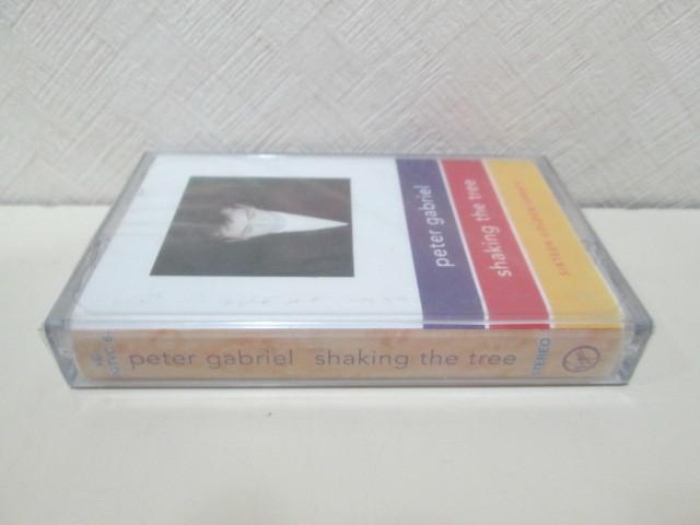 未開封カセットテープ 輸入盤 ピーター・ガブリエル ゲイブリエル PETER GABRIEL「shaking the tree/sixteen golden greats」 Genesis_画像3