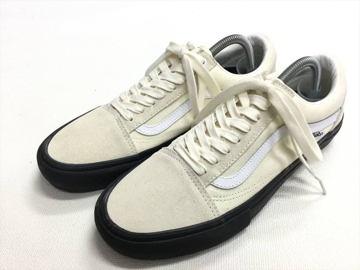 VANS OLD SKOOL Pro unbleached cloth Classic white suede