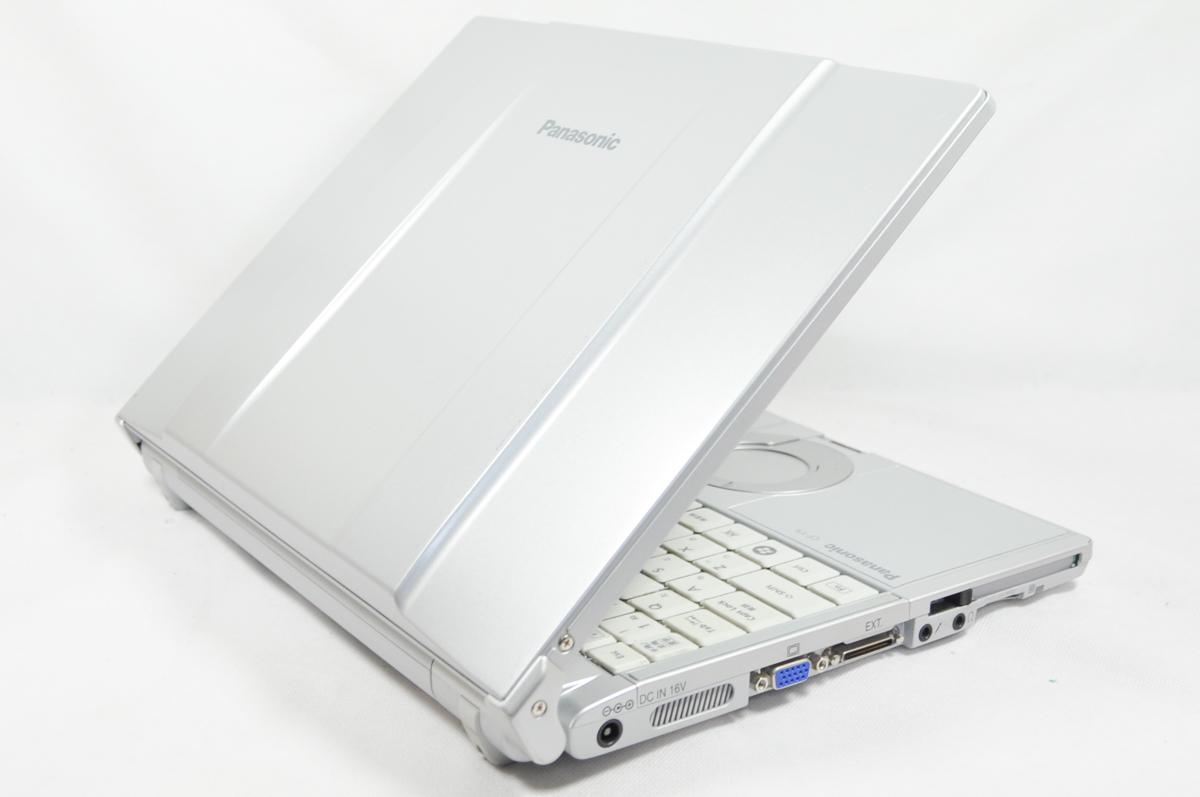 超美品 軽量 win10 office2016 即使用 Panasonic Let's note CF-Y9 高速Core2/2G/大容量HDD250GB/無線/DVD 即決メモリ3GBへ無料 #112_画像4