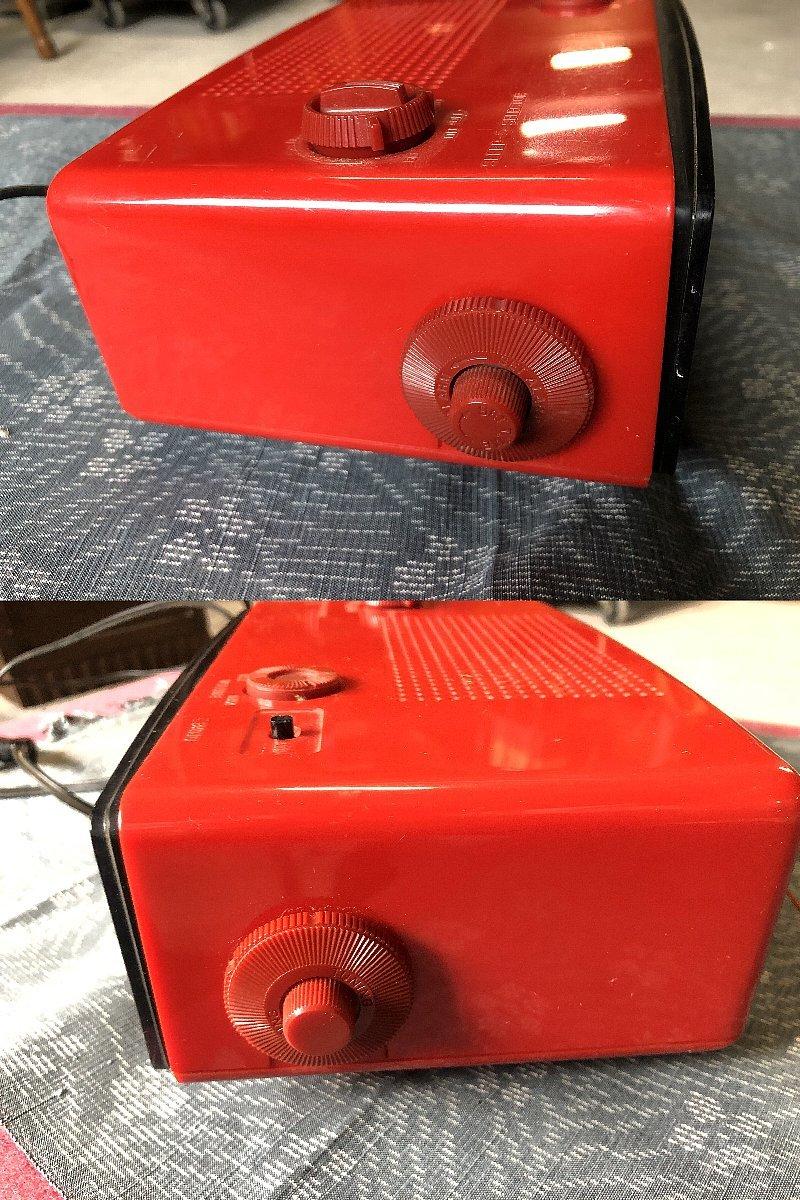 パタパタ時計AM&FMラジオ付き ナショナルパナソニック製▼昭和レトロ置時計稼働品_画像6