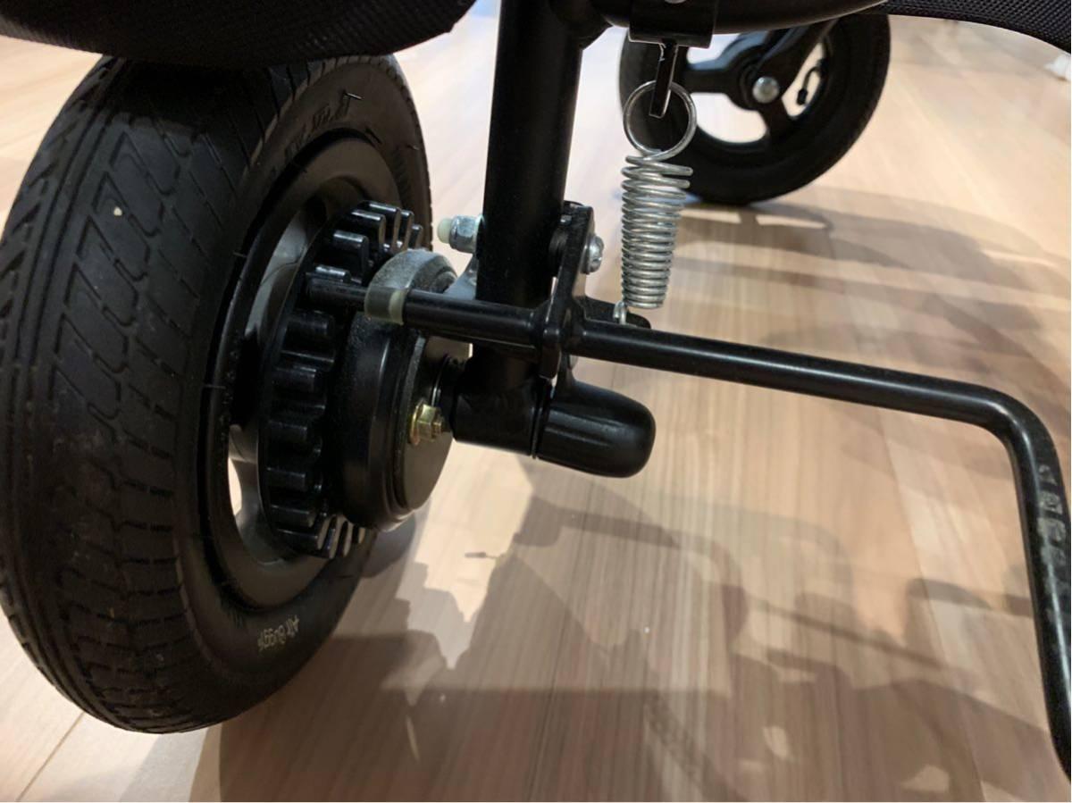 Air Buggy エアバギーココ グレープ 美品 直接引き渡しOK_画像8