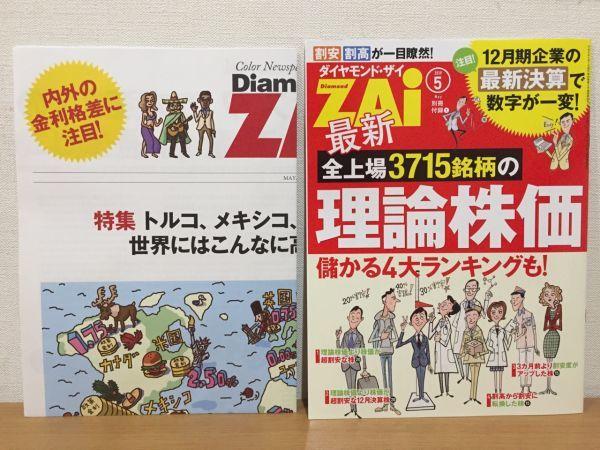 【送料150円】ダイヤモンド・ザイ Diamond ZAi 2019年5月号 ダイヤモンド社_画像3