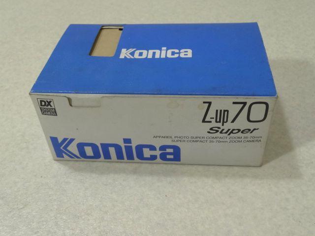Konica コニカ Z-up 70S-D Super F01Q フィルム コンパクト カメラ 未使用品