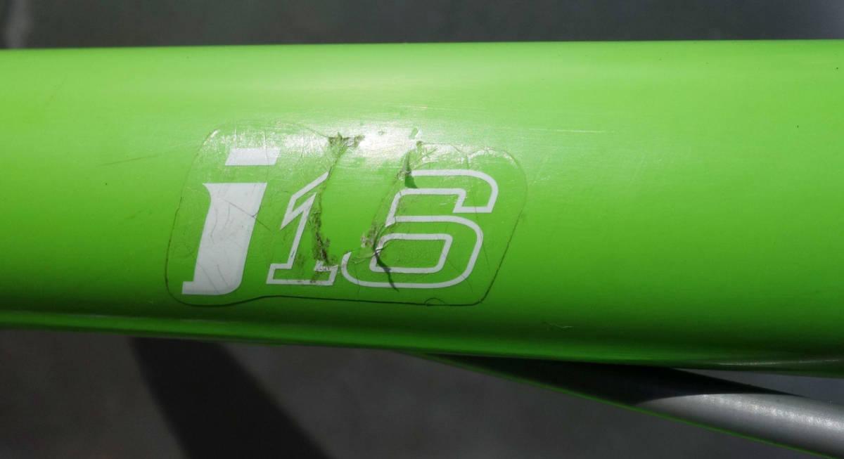 LOUIS GARNEAU(ルイガノ)LGS-J16 グリーンカラー 16インチ キッズ 補助輪無 子供用 中古  _画像6