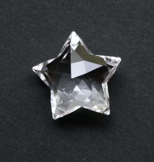 スターシェープカット・天然水晶_画像1