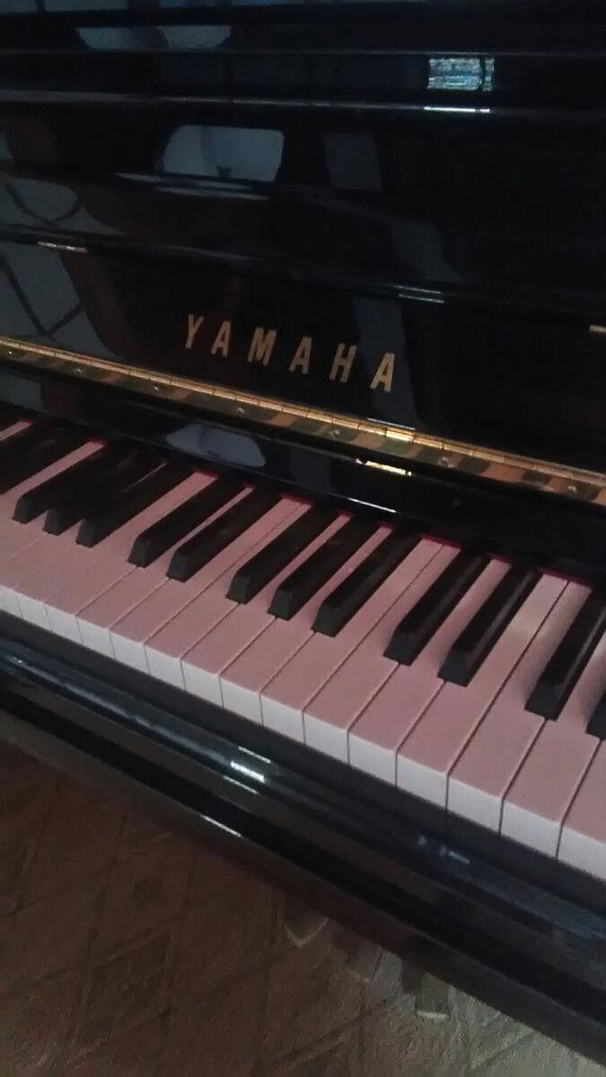 YAMAHA ヤマハ アップライトピアノ U30BL_画像2