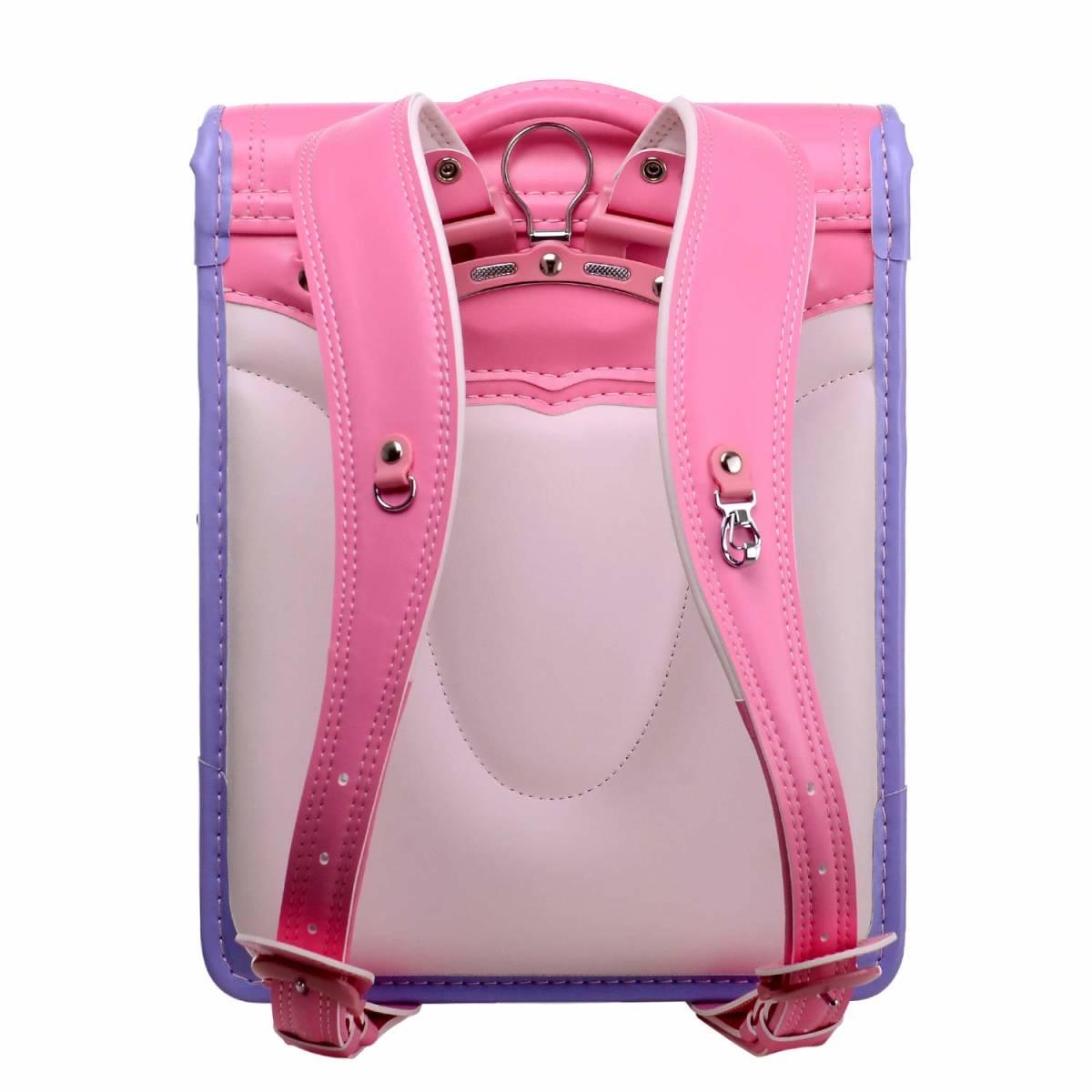 ランドセル プリンセス A4フラットファイル対応 刺繍 可愛い ピンク_画像3