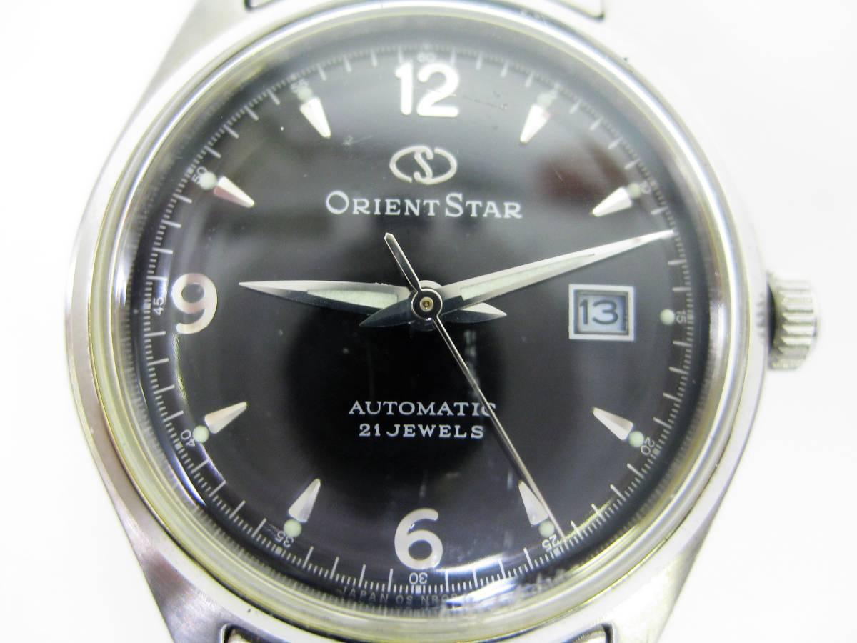 5ed3200c42 代購代標第一品牌 - 樂淘letao - ORIENT/オリエント OrientStar オリエントスター 3針デイト 21石 自動巻 裏スケ  稼働品【B26-47】