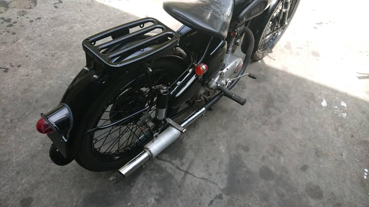 旧車 メグロ レジナ だったと思います 125cc 愛媛より_画像5