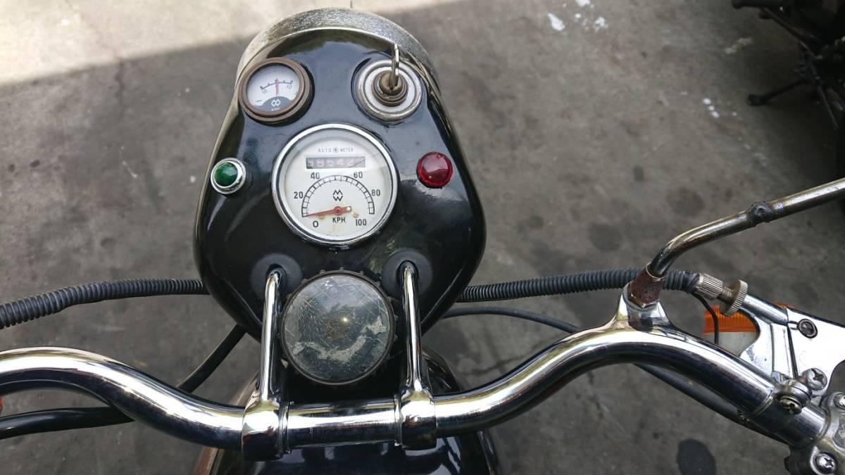 旧車 メグロ レジナ だったと思います 125cc 愛媛より_画像7