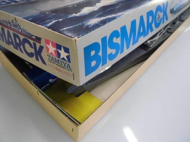 TAMIYA 1/350 BISMARCK ドイツ 戦艦ビスマルク プラモデル 未組立て_画像9