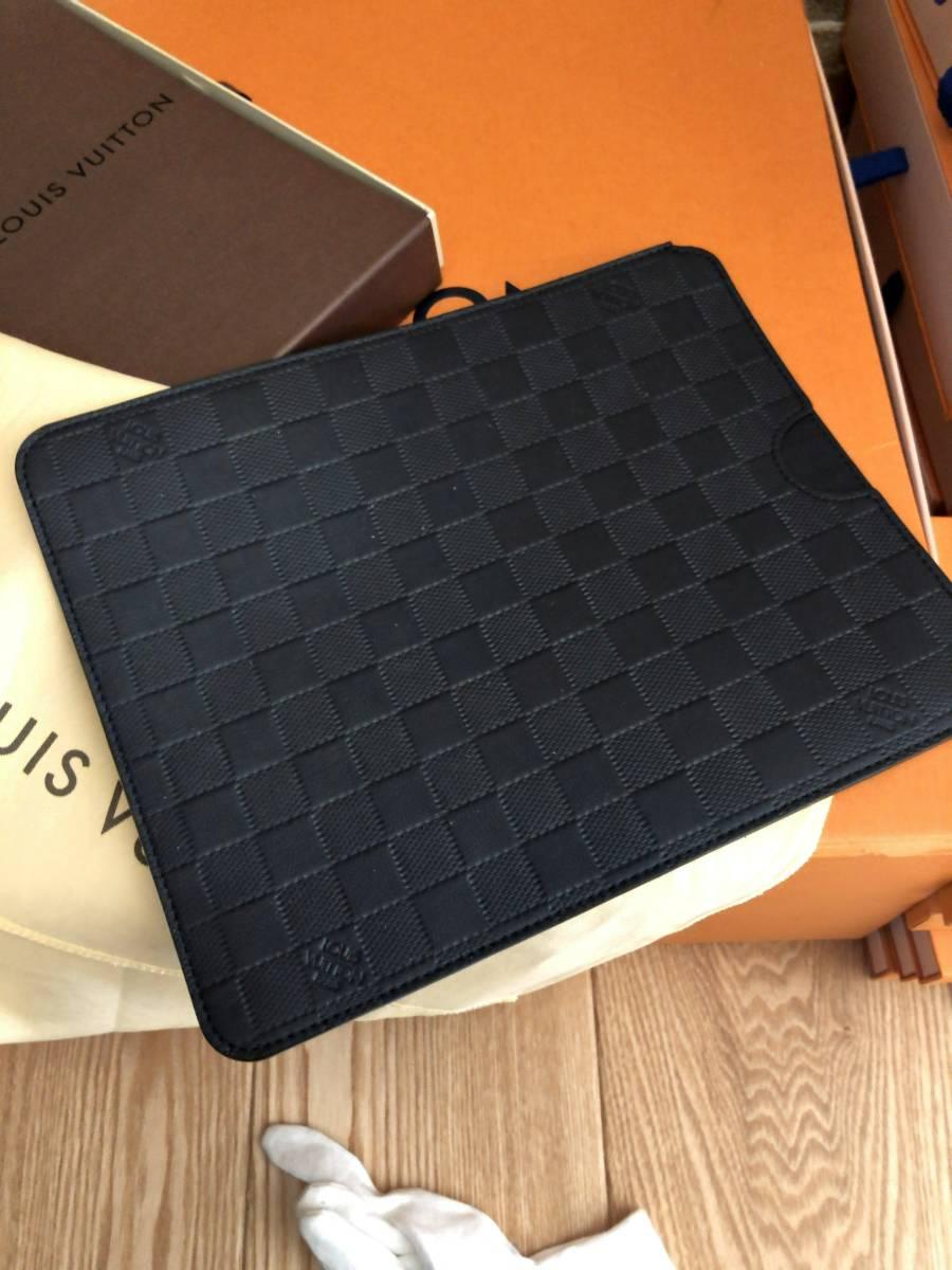 【極上極美!付属品フルセット!】ルイヴィトンダミエアンフィニ!iPadケース大♪_画像2