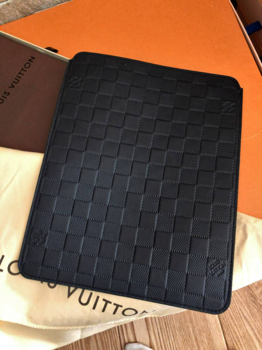 【極上極美!付属品フルセット!】ルイヴィトンダミエアンフィニ!iPadケース大♪_画像3