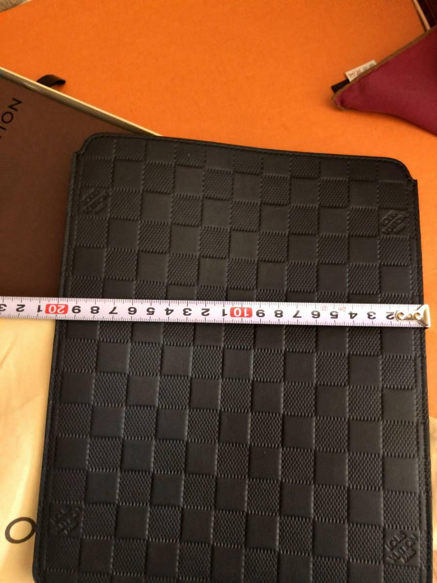 【極上極美!付属品フルセット!】ルイヴィトンダミエアンフィニ!iPadケース大♪_画像6